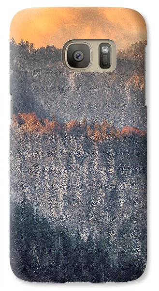 Galaxy Case featuring the photograph Morning Mountains II by Rebecca Hiatt