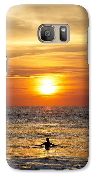 Galaxy Case featuring the photograph Morning Praise by Kathy Ponce