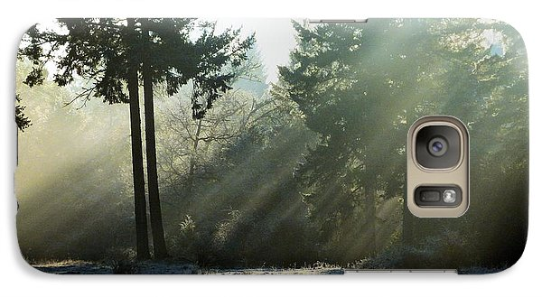 Galaxy Case featuring the photograph Morning Rays by Julia Hassett