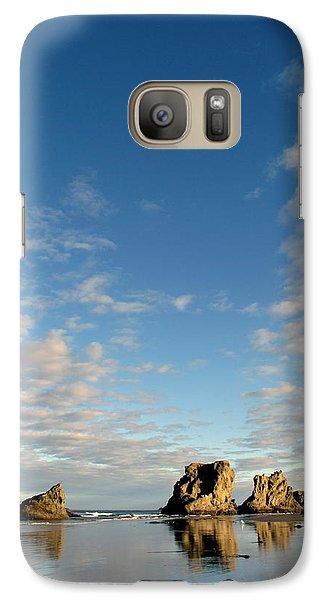 Galaxy Case featuring the photograph Morning Rocks by Suzy Piatt