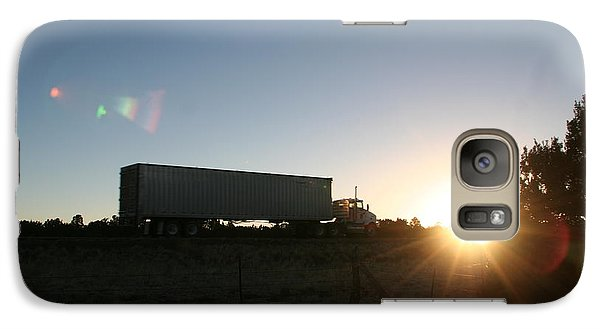 Galaxy Case featuring the photograph Morning Run by David S Reynolds