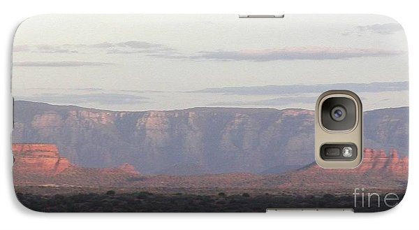 Galaxy Case featuring the photograph Morning Sedona.... by George Mount