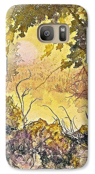 Galaxy Case featuring the painting Morning Serenity by Carolyn Rosenberger