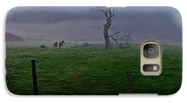 Galaxy Case featuring the photograph Morning Serenity by Christian Mattison