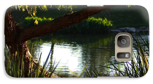 Galaxy Case featuring the photograph Morning Serenity by Richard Stephen