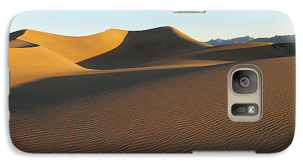 Galaxy Case featuring the photograph Morning Shadows by Joe Schofield