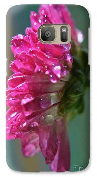 Galaxy Case featuring the photograph Morning Shower by Michelle Meenawong
