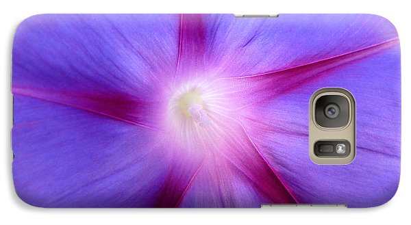 Galaxy Case featuring the photograph Morning Star by Julia Ivanovna Willhite