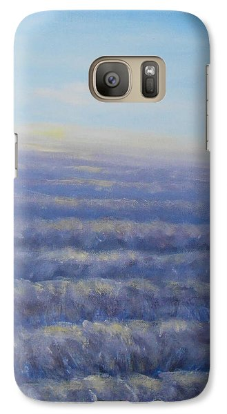 Galaxy Case featuring the painting Morning Sun by Jane  See