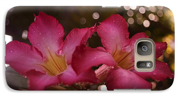 Galaxy Case featuring the photograph Morning Sunshine And Rain by Miguel Winterpacht