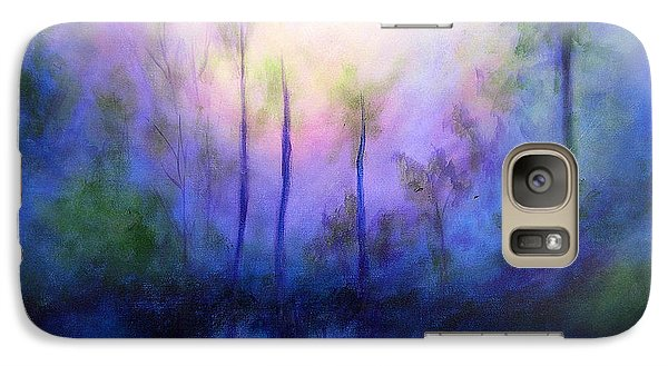 Galaxy Case featuring the painting Morning Symphony by Alison Caltrider