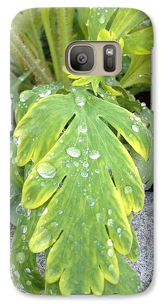 Galaxy Case featuring the photograph Mornings Dew by Margie Amberge