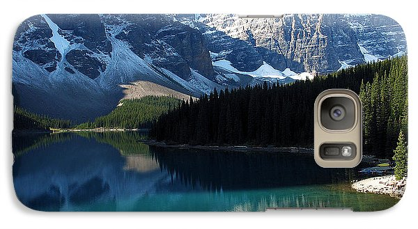 Galaxy Case featuring the photograph Moraine Lake by Gerry Bates