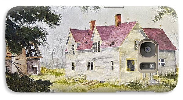 Galaxy Case featuring the painting Morristown Farmhouse by Susan Crossman Buscho