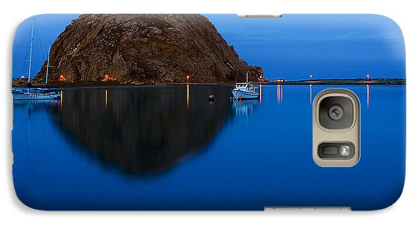 Galaxy Case featuring the photograph Morro Bay Calm Morning by Terry Garvin
