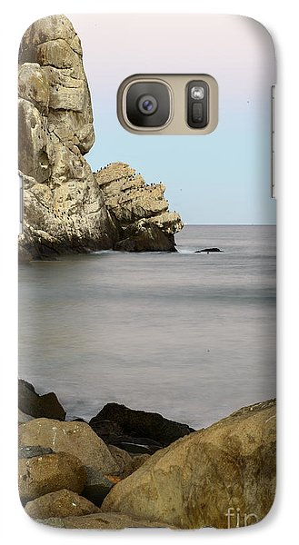 Galaxy Case featuring the photograph Morro Bay Morning 2 by Terry Garvin