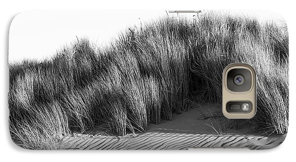 Galaxy Case featuring the photograph Morro Beach Shrubbery by Terry Garvin