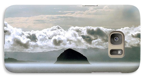 Galaxy Case featuring the photograph Morro Rock Morning by Michael Rock