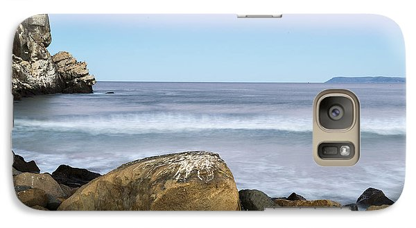 Galaxy Case featuring the photograph Morro Rock Morning by Terry Garvin