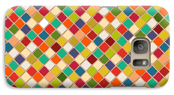 Mosaico Galaxy S7 Case by Sharon Turner