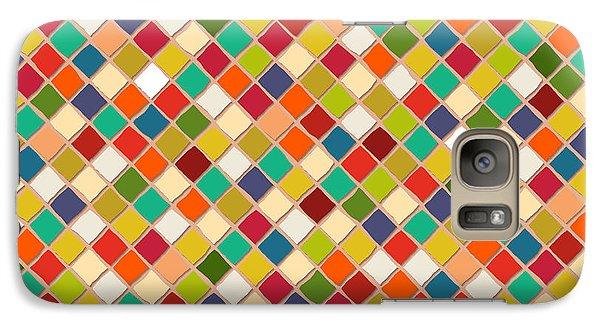 Mosaico Galaxy Case by Sharon Turner