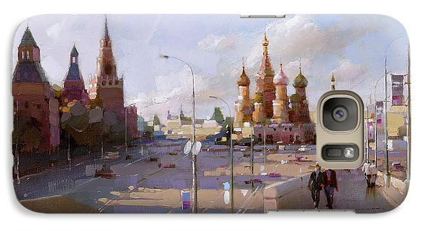 Moscow. Vasilevsky Descent. Views Of Red Square. Galaxy S7 Case