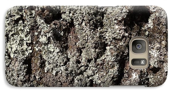 Galaxy Case featuring the photograph Moss And Lichens by Jason Williamson