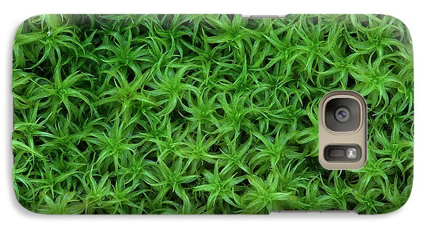 Galaxy Case featuring the photograph Moss by Daniel Reed