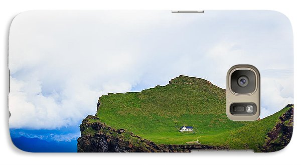 Galaxy Case featuring the photograph Most Peaceful House In The World by Peta Thames
