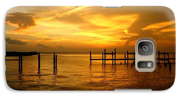 Galaxy Case featuring the photograph Most Venerable Sunset by Kathy Bassett