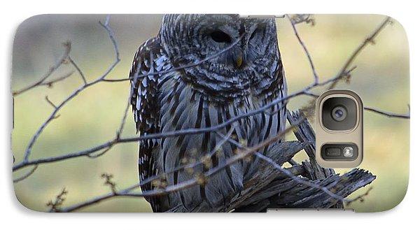 Galaxy Case featuring the photograph Mostly Awake by Randy Bodkins