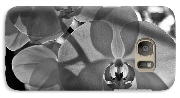 Galaxy Case featuring the photograph Moth Orchid Backlit by Ron White
