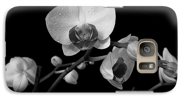 Galaxy Case featuring the photograph Moth Orchids by Ron White