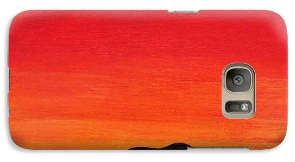 Galaxy Case featuring the painting Mother Africa 5 by Michael Cross