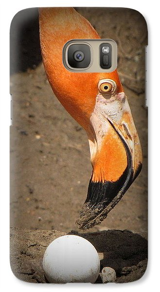 Galaxy Case featuring the photograph Mother And Child by Beth Vincent