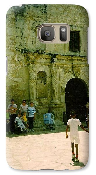 Galaxy Case featuring the photograph Mother And Family by Amazing Photographs AKA Christian Wilson