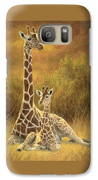 Mother And Son Galaxy Case by Lucie Bilodeau