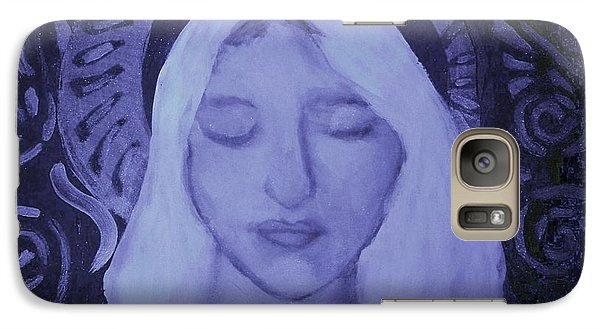 Galaxy Case featuring the photograph Mother Mary I by Shirley Moravec