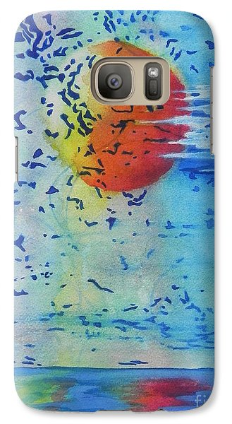Galaxy Case featuring the painting Mother Nature At Her Best  by Chrisann Ellis