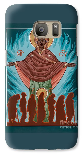 Mother Of Sacred Activism With Eichenberg's Christ Of The Breadline Galaxy S7 Case