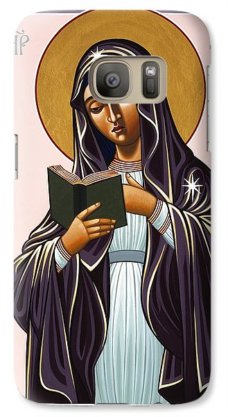 Mother Of The Incarnate Word 071 Galaxy S7 Case
