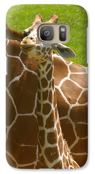 Galaxy Case featuring the photograph Mother's Child by Randy Pollard