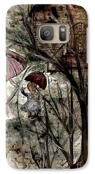 Galaxy Case featuring the painting Mothers Day by Denise Tomasura