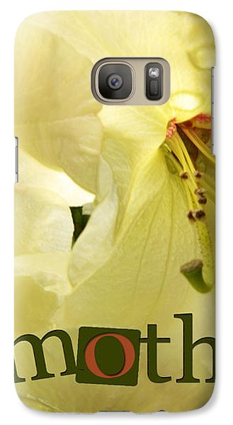 Galaxy Case featuring the photograph Mothers Day by Jean OKeeffe Macro Abundance Art