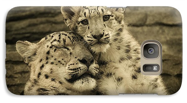 Galaxy Case featuring the photograph Mother's Love by Chris Boulton