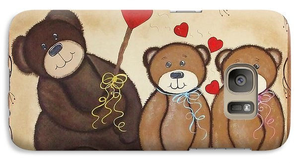 Galaxy Case featuring the painting Mothers Love by Cindy Micklos