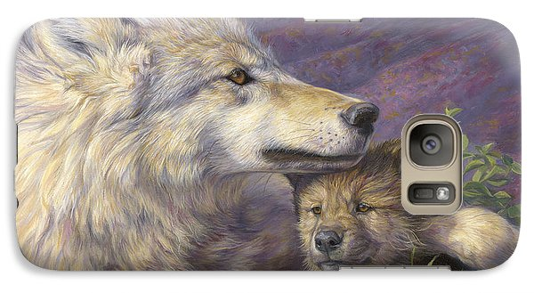 Mother's Love Galaxy Case by Lucie Bilodeau