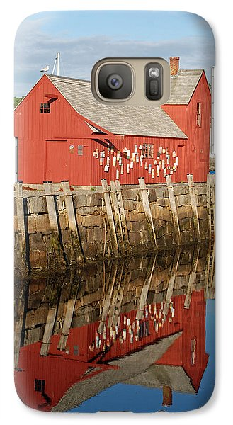 Galaxy Case featuring the photograph Motif 1 With Reflection by Richard Bryce and Family
