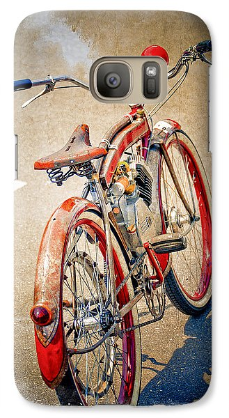 Galaxy Case featuring the photograph Motor Bike by Craig Perry-Ollila