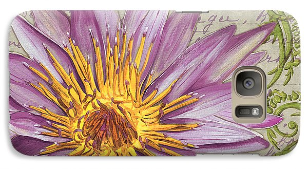 Moulin Floral 1 Galaxy S7 Case by Debbie DeWitt